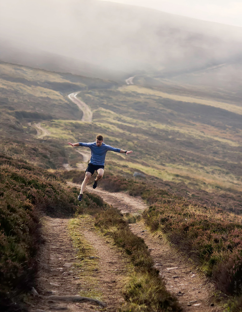 Trail running in the Highlands